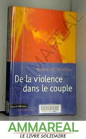de la violence dans le couple