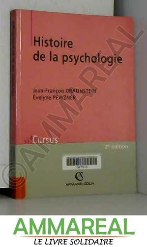 Histoire de la psychologie: Jean-François Braunstein et
