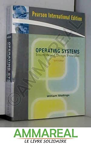 9780136033370 Operating Systems Internals And Design Principles 6th Edition Abebooks William Stallings 0136033377