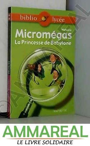 Micromégas : La Princesse de Babylone: Voltaire et Véronique