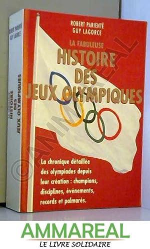 Histoire des Jeux Olympiques: ROBERT PARIENTE -