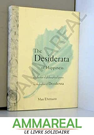 Max Ehrmann Desiderata Happiness Collection Philosophical