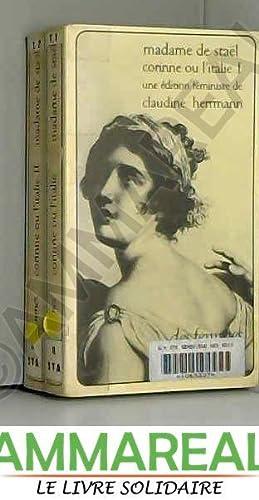 Corinne, ou, L'Italie: Madame de Staël