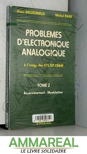9782212095500 Problemes D Electronique Analogique Tome 2
