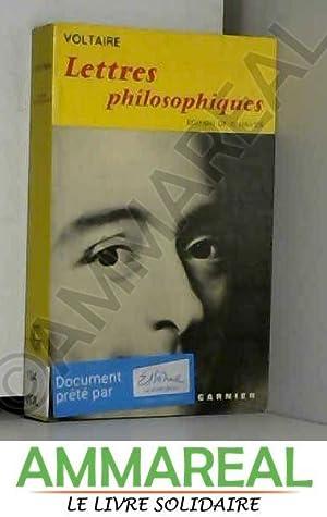 Lettres philosophiques, ou Lettres anglaises : avec: Raymond Voltaire (1694-1778).