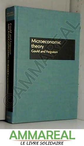 Microeconomic Theory: J.P. Gould et