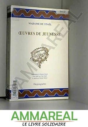 Oeuvres de jeunesse: Simone Balayé, Madame