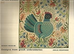DESIGNS FROM GREEK EMBROIDERIES Volume 1: MEGAPANOU, Amalia