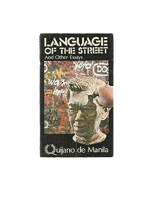 language street essays by manila quijano abebooks language of the street and other essays manila quijano de