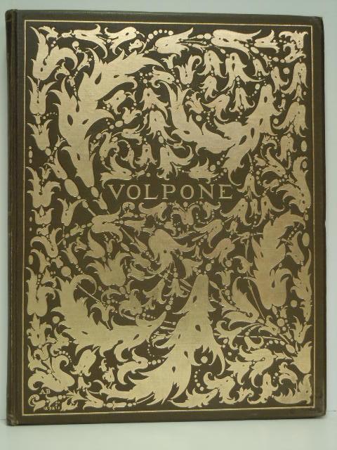 Volpone. Autorisierte deutsche Ausgabe von Margarete Mauthner.: Beardsley. - Jonson,