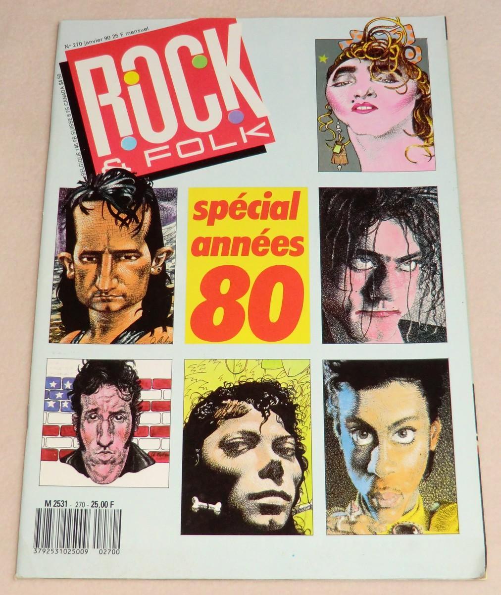 """Résultat de recherche d'images pour """"rock & folk années 80"""""""