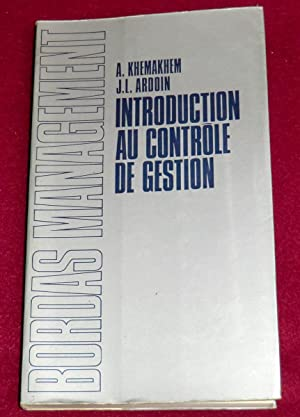 INTRODUCTION AU CONTRÔLE DE GESTION: KHEMAKHEM A., ARDOIN