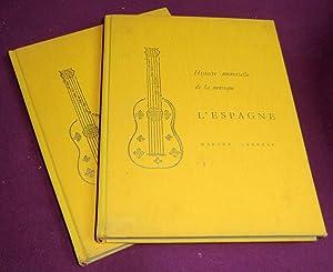 Histoire universelle de la musique . L'Espagne,: WALTER Starkie