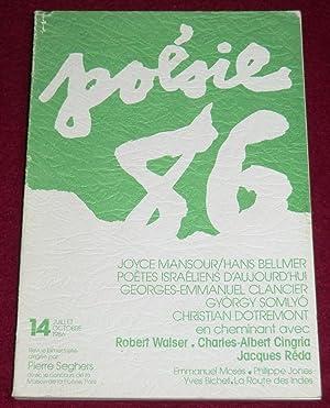 POESIE 86 - N° 14 (Mansour/Bellmer, Poètes: Collectif, SEGHERS Pierre