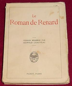 LE ROMAN DE RENARD: Anonyme, CHAUVEAU Léopold