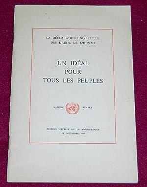 La Déclaration Universelle des Droits de l'Homme: Collectif