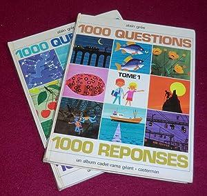 1000 QUESTIONS 1000 REPONSES - Album géant cadet-rama - Tomes 1 et 2: GREE Alain