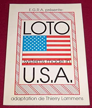 LOTO SYSTEMS MADE IN U.S.A.: LAMMENS Thierry