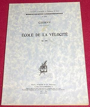 ECOLE DE LA VELOCITE - Op. 299: CZERNY