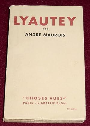 LYAUTEY: MAUROIS André