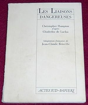 LES LIAISONS DANGEREUSES: HAMPTON Christopher, LACLOS