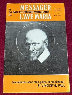 LE MESSAGER DE L'AVE MARIA N° 3: Collectif