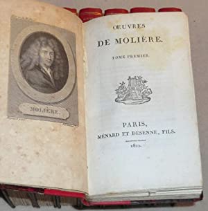 OEUVRES DE MOLIERE - Tomes 1 à 8 (complet): MOLIERE