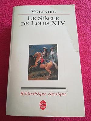 LE SIECLE DE LOUIS XIV: VOLTAIRE