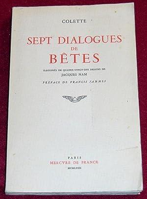 SEPT DIALOGUES DE BETES: COLETTE