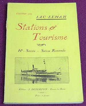 LAC LEMAN - STATIONS & TOURISME Haute-Savoir