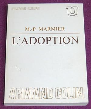 L'ADOPTION: MARMIER Marie-Pierre