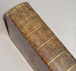 LA SAINTE BIBLE ou L'ancien et le