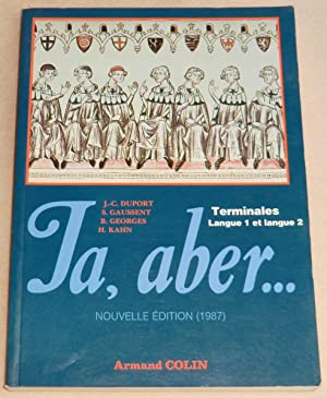 JA, ABER - Terminales - Langue 1: DUPORT Jean-Claude, GAUSSENT