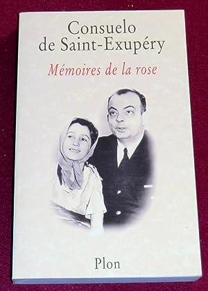 MEMOIRES DE LA ROSE: SAINT-EXUPERY (de) Consuelo