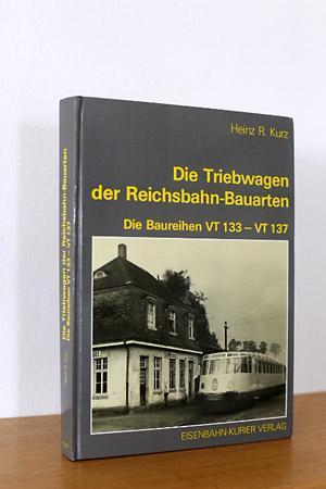 Die Triebwagen der Reichsbahn-Bauarten, Die Baureihe VT133 - VT 137