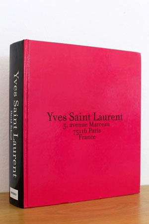 Yves Saint Laurent 5, avenue Marceau 75116 Paris France