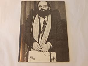 IMPROVISED POETICS: Allen Ginsberg. Edited with an introduction by Mark Robinson