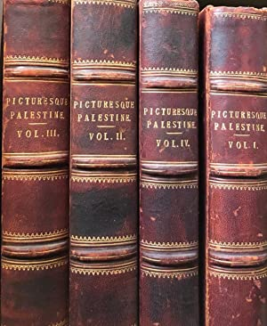 Picturesque Palestine Sinai and Egypt (4 vols): WILSON, Colonel (editor)