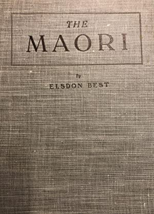 The Maori Vol.1: Best, Elsdon