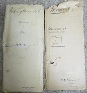 Deed of Sale - Joseph Ellis to Joseph Bennett