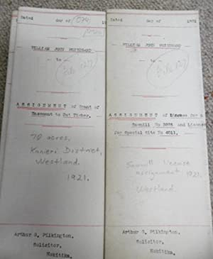 Documents relating to William John Pritchard