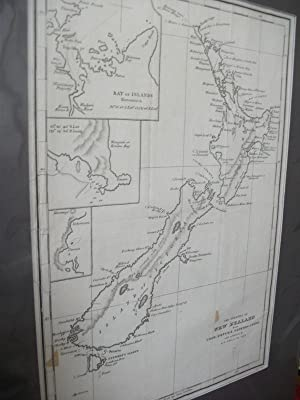 The Islands of New Zealand from Cook, D'Urville, Duperry & Herd. With Additions By J.S. ...