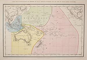 Carte Pour l'Intelligence Du Memoire De M. Le Capitaine d'Urville Sur Les Iles du Grand ...