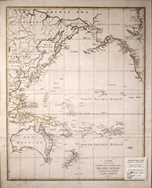 A Chart Exhibiting the New Discoveries in the North & South Pacific Ocean, Also Those on The Nort...