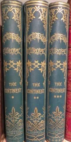 Pictureseque Europe with Illustrations On Steel And Wood The Continent. 3 Vols.