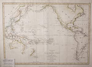 Chart of the Great Pacific Ocean or South Sea, to Illustrate the voyage of Discovery Made By the ...