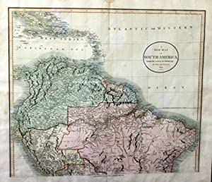 A New Map of South America from the Latest Authorities By John Cary, Engraver 1824