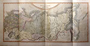 A New Map of the Russian Empire Divided Into its Governments; from the Latest Authorities, By J C...