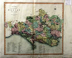 A New Map of the County of Dorset Divided Into Hundreds