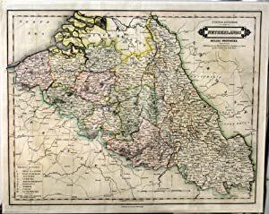 United Kingdom of the Netherlands Belgic Provinces. Exhibiting Also the Departments & Boundaries ...